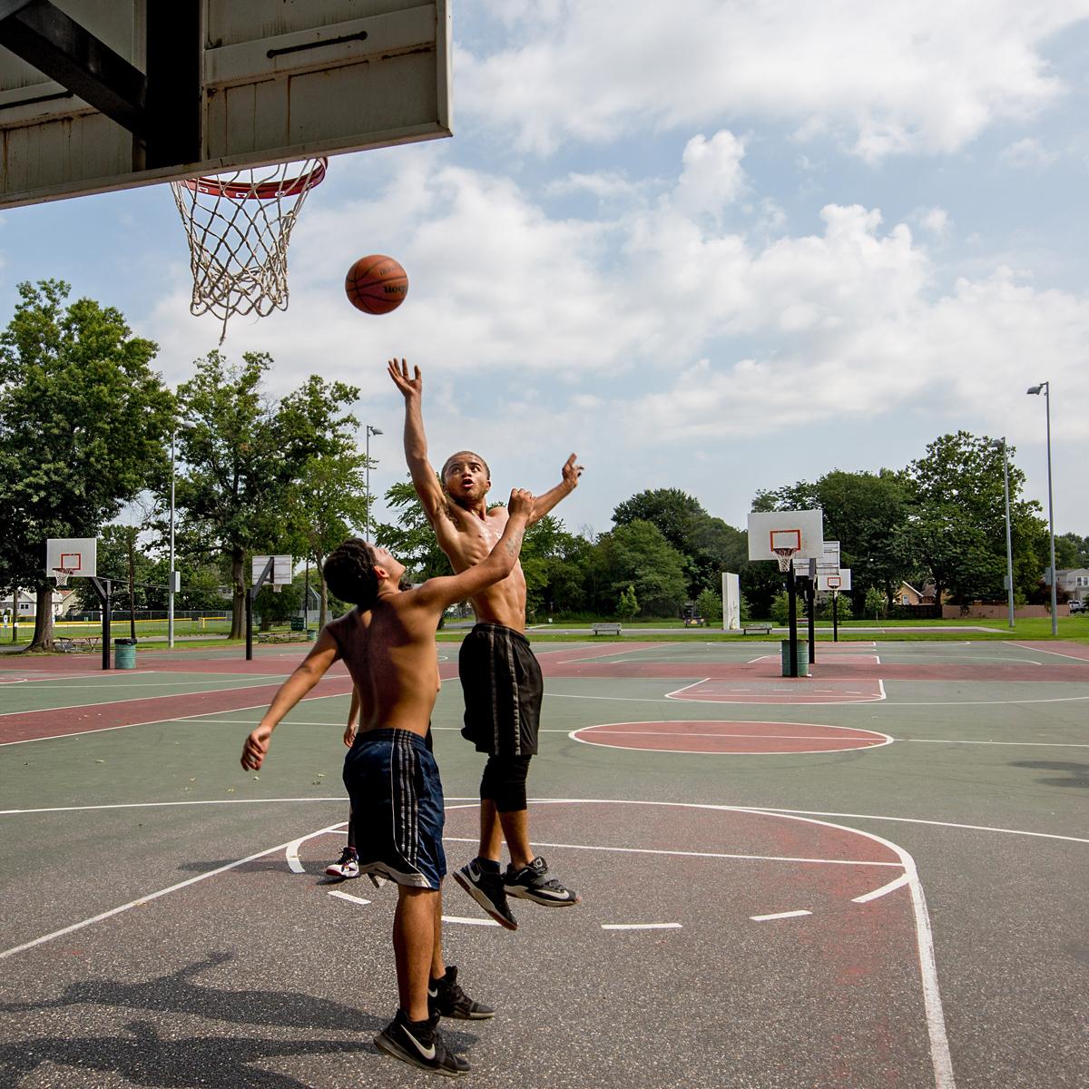 Warriors Path State Park Basketball Court: Camden County, NJ