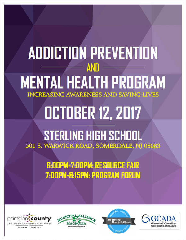 Addiction Prevention Mental Health Program Camden County Nj