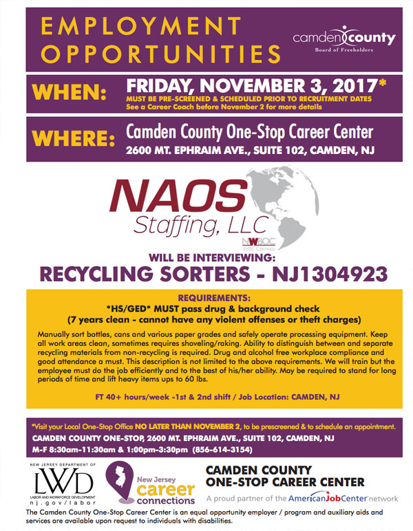 one stop career center employment opportunity event - 2nd Shift Careers 2nd Shift Employment 2nd Shift Jobs