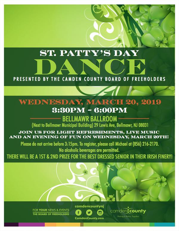 St  Patty's Day Dance | Camden County, NJ