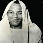 Jun. 06, 1948 – Preparing to become world champion? Jersey Joe Walcott gets ready..Jersey Joe Walcott works up a good sweat while doing his training chores in camp at Orenloch, N.J. he is to meet Joe Louis on the night of June 23rd., at the Yankee Stadium