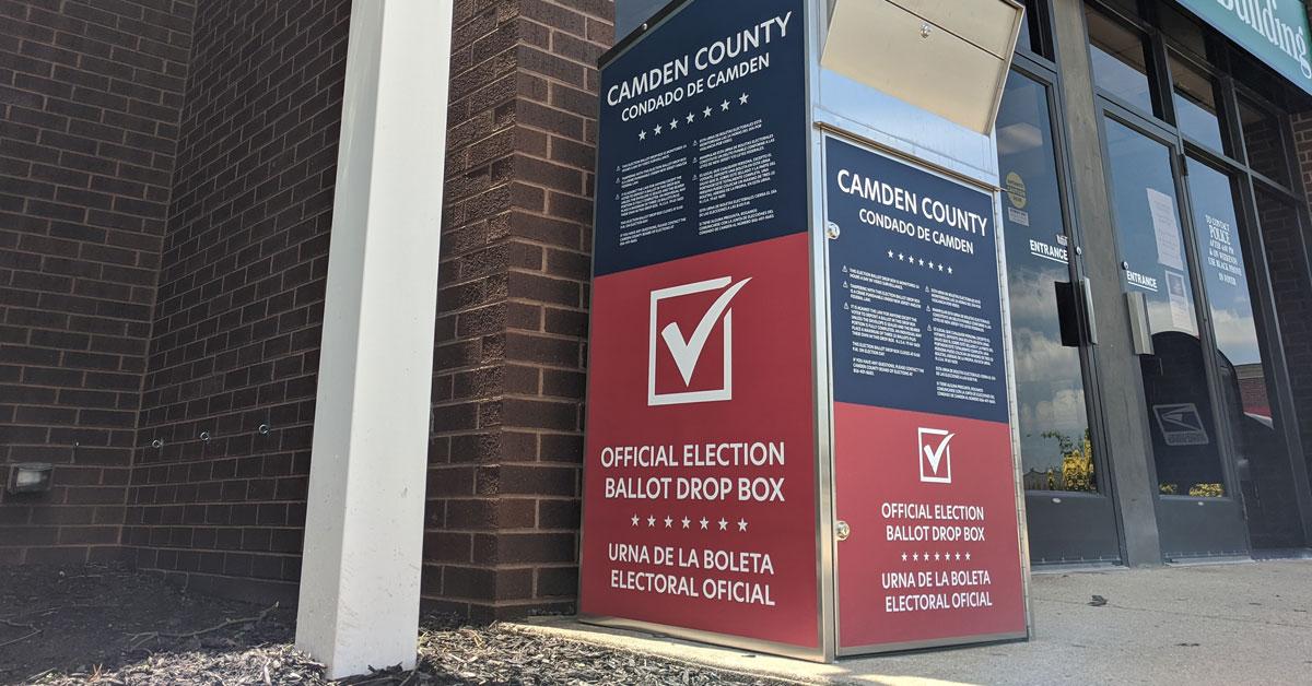 Board Of Elections Announces General Election Vbm Drop Box Locations Camden County Nj